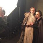 Star Wars: Gli Ultimi Jedi, Carrie Fisher, Mark Hamill, Daisy Ridley e Adam Driver nelle foto di Kathleen Kennedy!