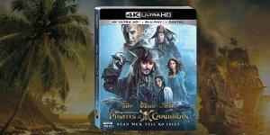 Pirati dei Caraibi: La Vendetta di Salazar in Blu-Ray e 4K a ottobre, ecco il trailer!