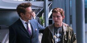 Spider-Man Peter Parker Tony Stark