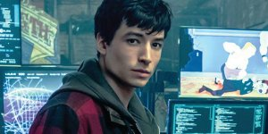 Ezra Miller Barry Allen The Flash Justice League
