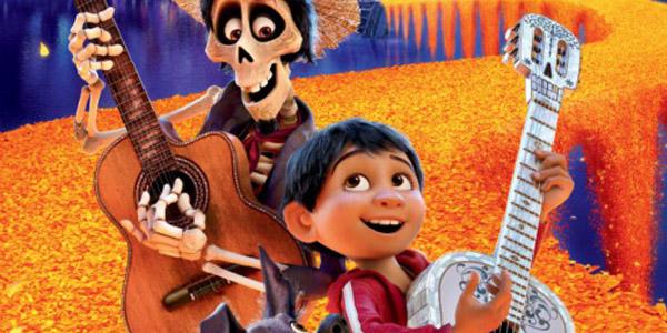 Coco colorati character poster del nuovo film animato