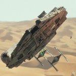 Star Wars IX: uno sguardo al Millennium Falcon nelle prime foto rubate dal set?