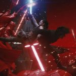 Star Wars: Gli Ultimi Jedi, Rey e Kylo Ren combattono al ritmo di Footloose, Toxic e altre canzoni