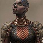 Black Panther: costumi e armi nei nuovi concept art del cinecomic Marvel