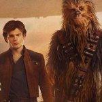 Solo: a Star Wars Story, Han, Chewbacca e il Millennium Falcon in un nuovo poster italiano