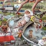 Stephen King: oltre 170 riferimenti ed easter egg in un'illustrazione firmata da Jordan Monsell