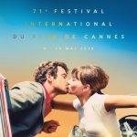 Cannes: un bacio nel poster della 71esima edizione del Festival