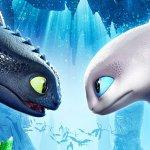 Dragon Trainer: Il Mondo Nascosto, Sdentato con una nuova compagna nel primo poster italiano