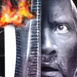 Skyscraper: due poster in stile rétro del film con Dwayne Johnson