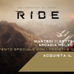 Ride Night: tutti gli appuntamenti del grande evento l'11 settembre ad Arcadia Cinema