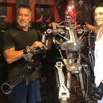 Terminator 6: Arnold Schwarzenegger segue l'allenamento di Gabriel Luna