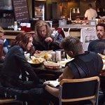 The Avengers: ecco un curioso dettaglio della protesi per coprire la barba Chris Evans nella scena dello Shawarma