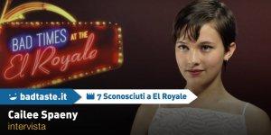 7 Sconosciuti a El Royale: Cailee Spaeny tra lotta, sangue e lezioni apprese sul set