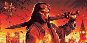 Hellboy: fuoco e fulmini in due nuovi poster animati