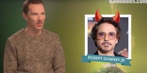 Avengers: Benedict Cumberbatch inserisce i suoi colleghi dell'UCM nella lista dei buoni e dei cattivi