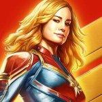 Captain Marvel: la supereroina interpretata da Brie Larson in un nuovo poster del film