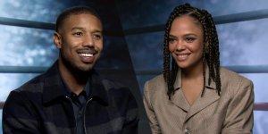 """Creed II, Tessa Thompson e Michael B. Jordan sul sequel: """"Magari nostra figlia sul ring"""""""