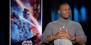 Star Wars: L'Ascesa di Skywalker, John Boyega si intervista da solo in un divertente video