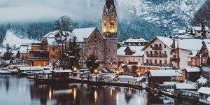 Hallstatt Frozen