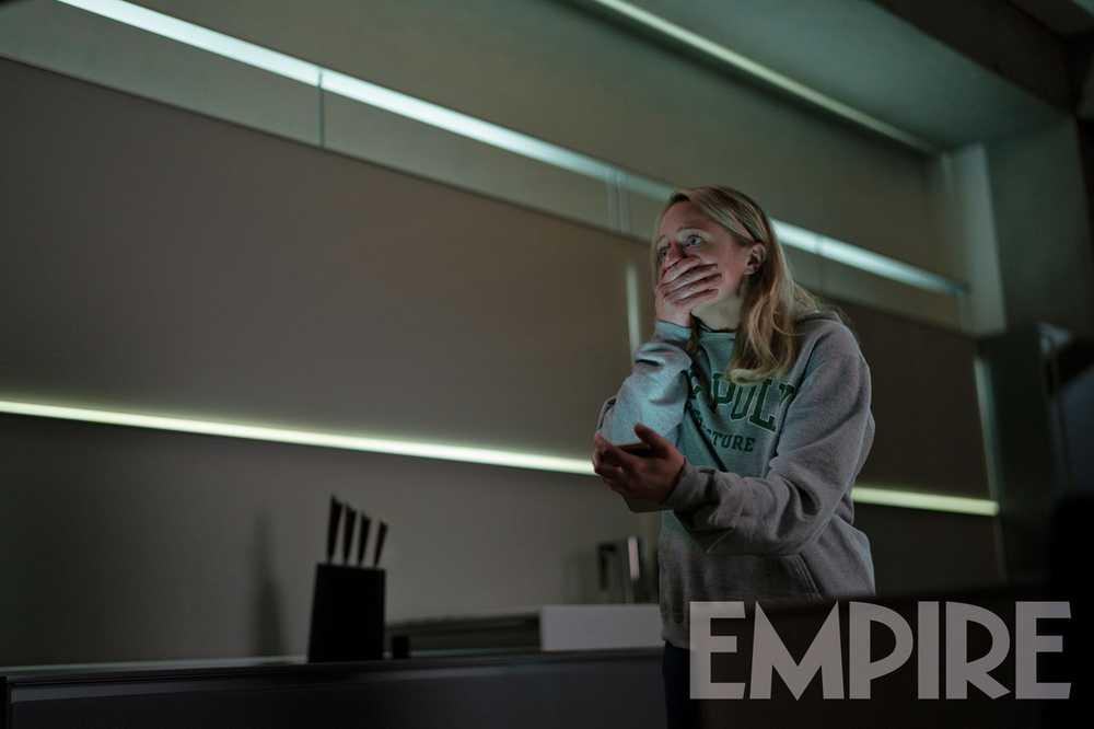 Uomo Invisibile Elisabeth Moss