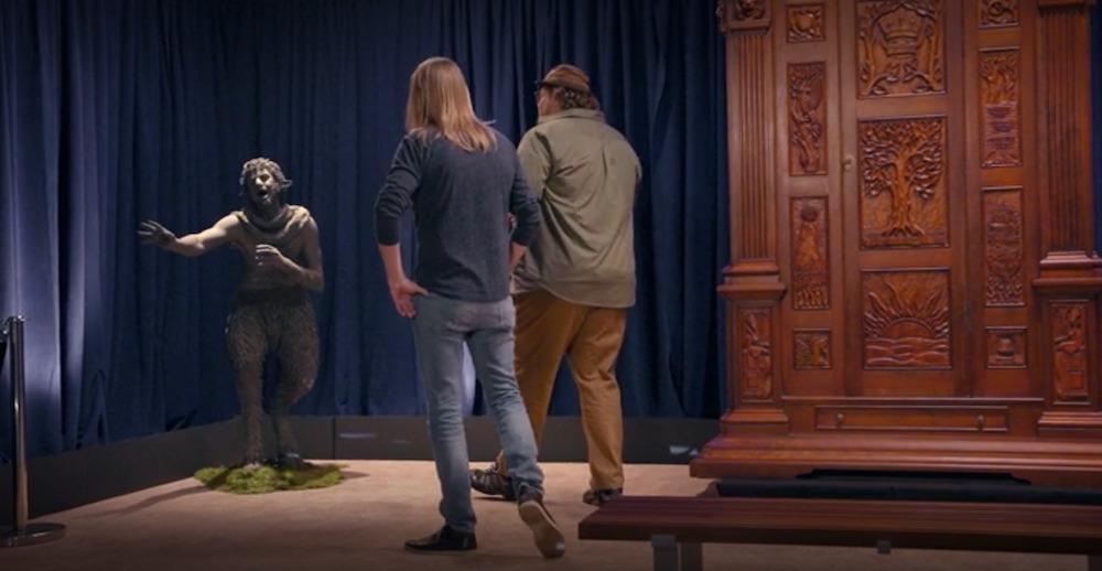 il leone la strega e larmadio oggetti di scena 3