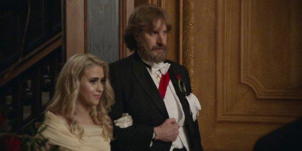 Borat e la figlia Tutar in una scena del film