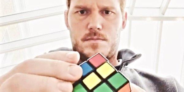 chris pratt the tomorrow war cubo di rubik