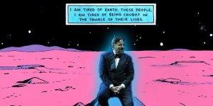 Christian De Sica nei panni del Dottor Manhattan