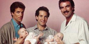 tre scapoli e un bebé