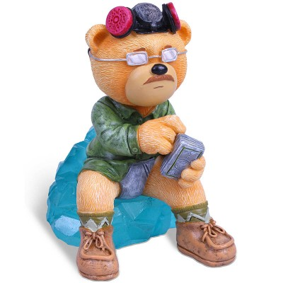 A photo of Heisenbear