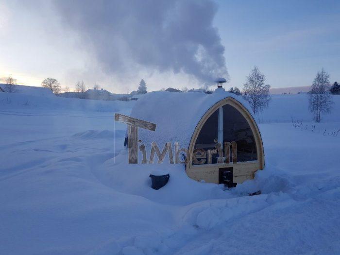 Utomhusbastu för trädgård Igloo, Magnus, Sundsbruk, Sverige (3)