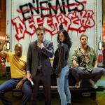 The Defenders: Luke Cage, Jessica Jones e Matt Murdock insieme sul set!