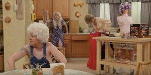 Girls: Lena Dunham e Jimmy Kimmel ricreano la parodia di Cuori Senza Età