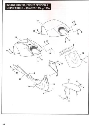 Buell Motorcycle Forum: Part# Body parts XB12XP Police