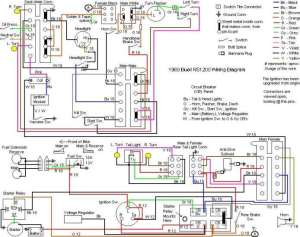 Buell Forum: Wiring Diagram (1989, RS1200)