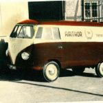 Alter Firmenwagen