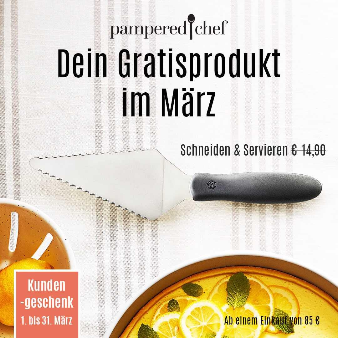 Pampered Chef Geschenk März 2021