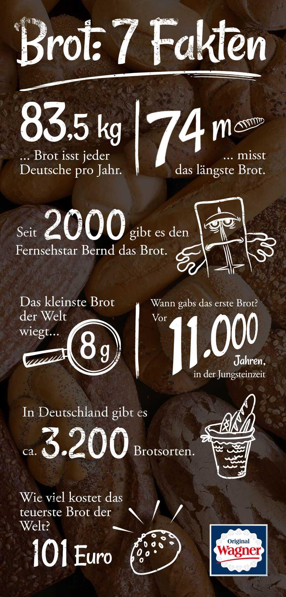 Sieben Fakten zu Brot
