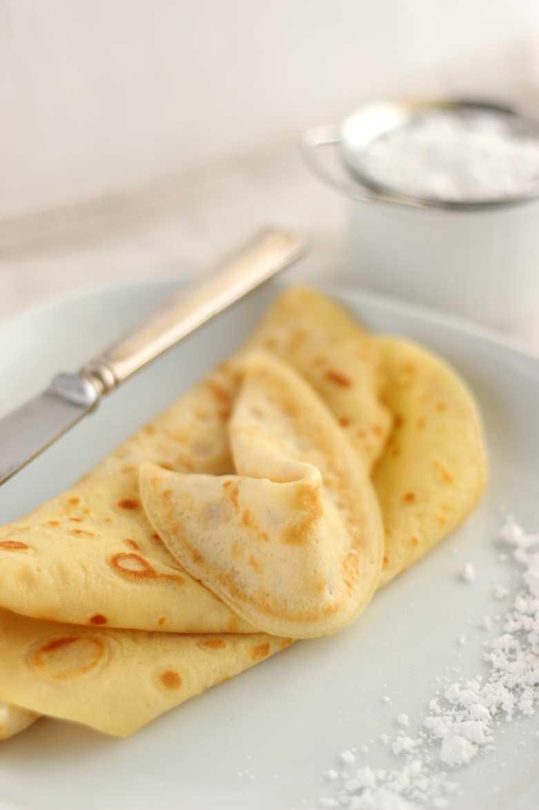 Süße Schuckmann-Crêpes mit Safran