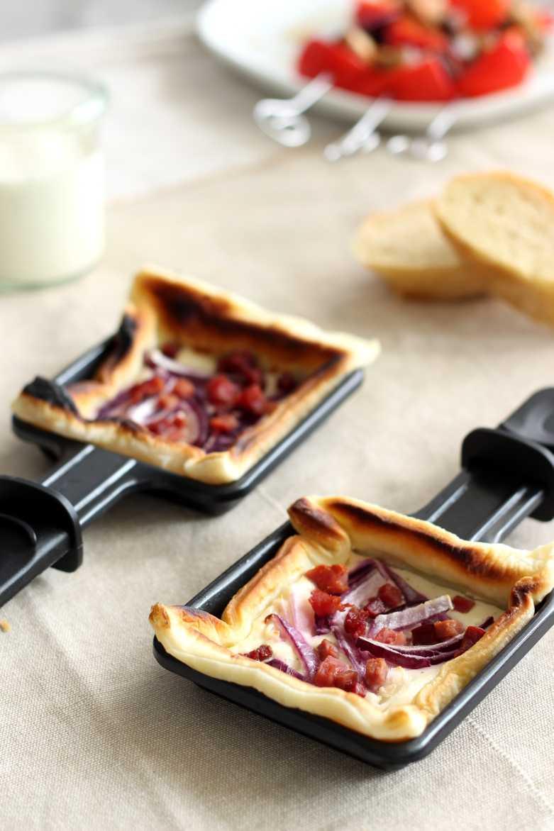 Raclette Flammkuchen