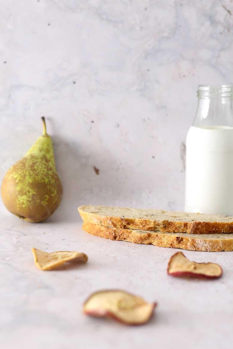 Schnelles Apfelbrot mit Maronen