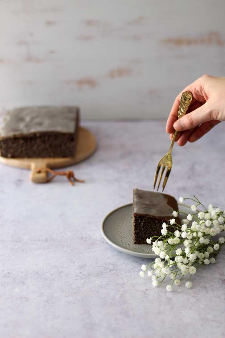 Mohnkuchen mit Zitronenguss | bäckerina.de