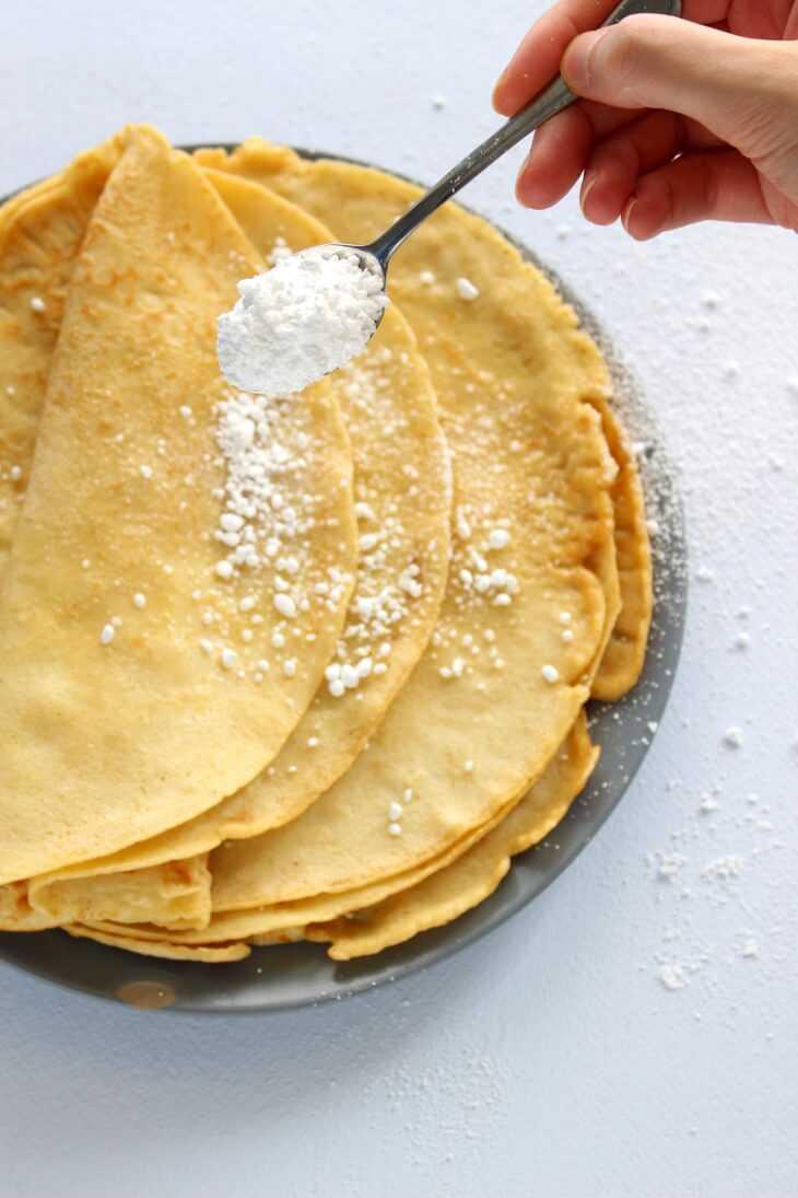Pfannkuchen Grundrezept | bäckerina.de