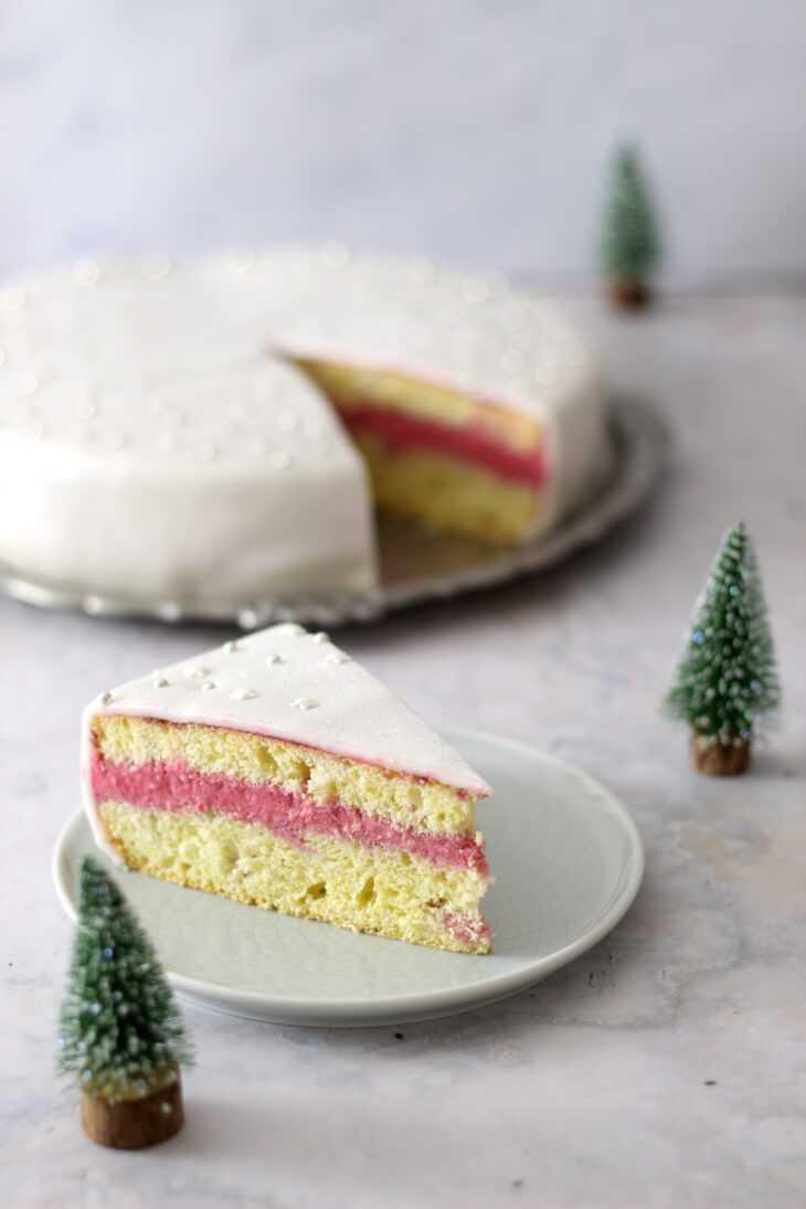Silberne Fondant Torte | bäckerina.de
