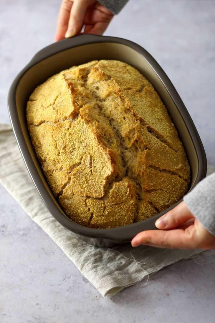 No Knead Brot Pampered Chef | bäckerina.de