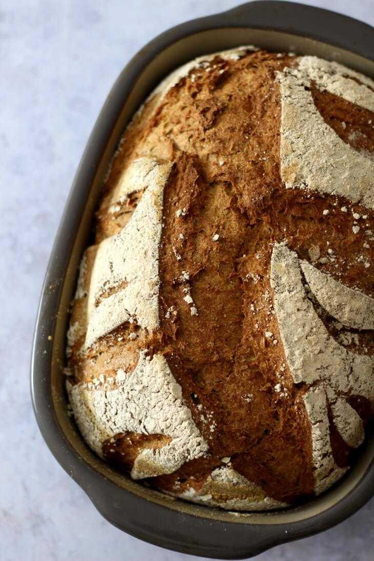 Vollkornbrot Pampered Chef Rezept | bäckerina.de