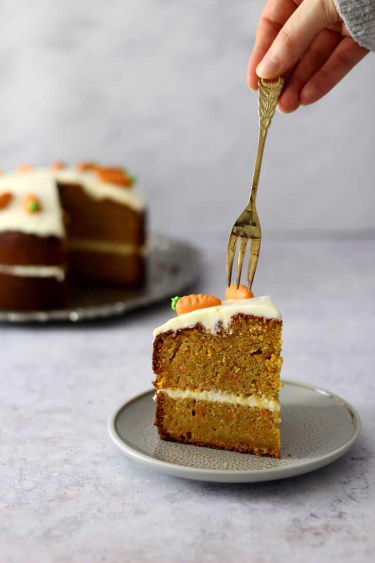 Carrot Cake saftig Rezept | bäckerina.de