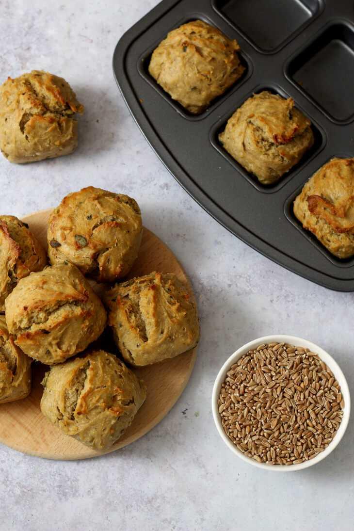 Körnerbrötchen Rezept | bäckerina.de