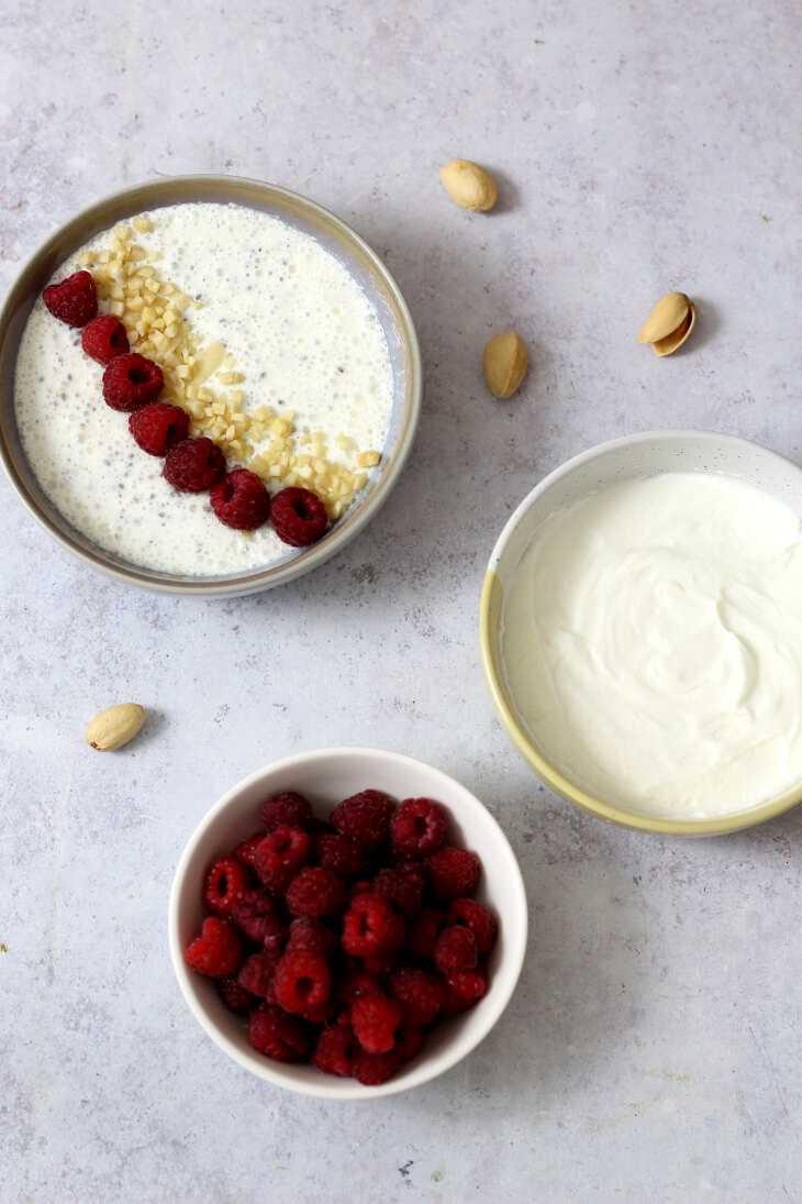 Chiapudding mit Quark | bäckerina.de