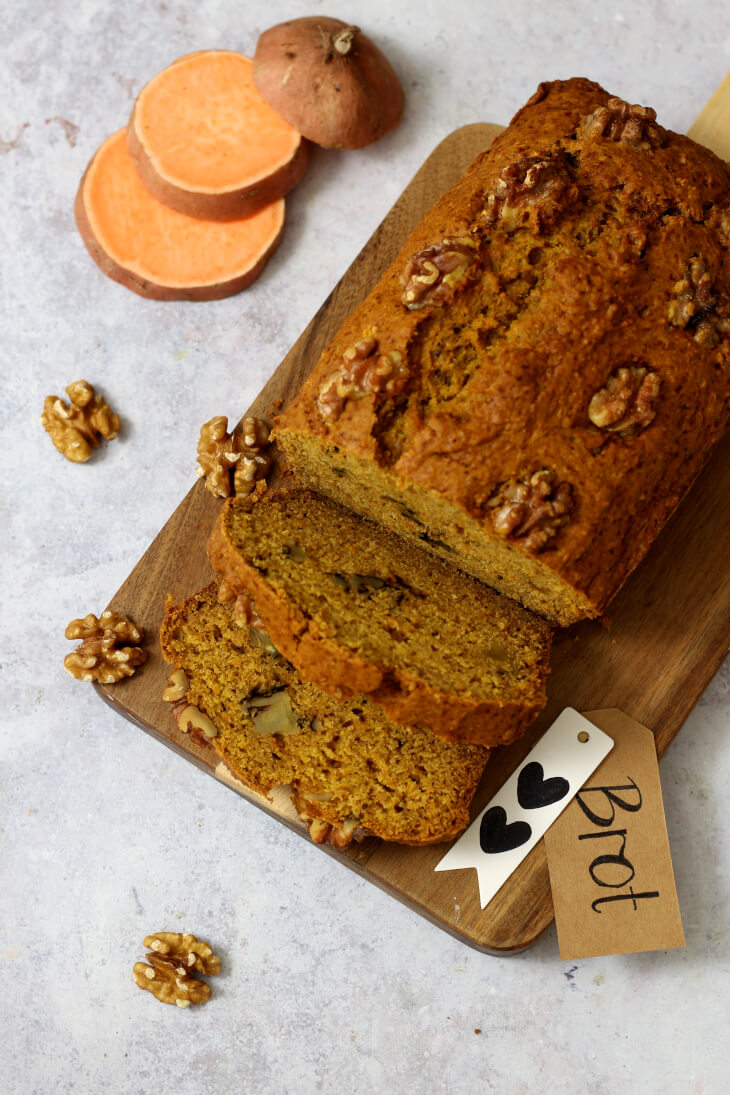 Bananenbrot Rezept mit Walnuss | bäckerina.de